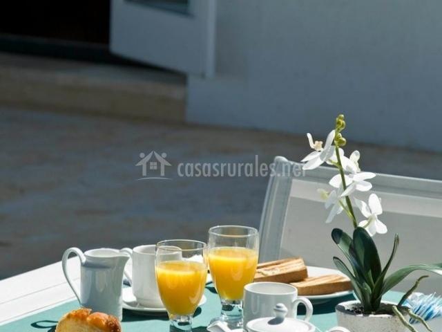 Restaurante con desayuno
