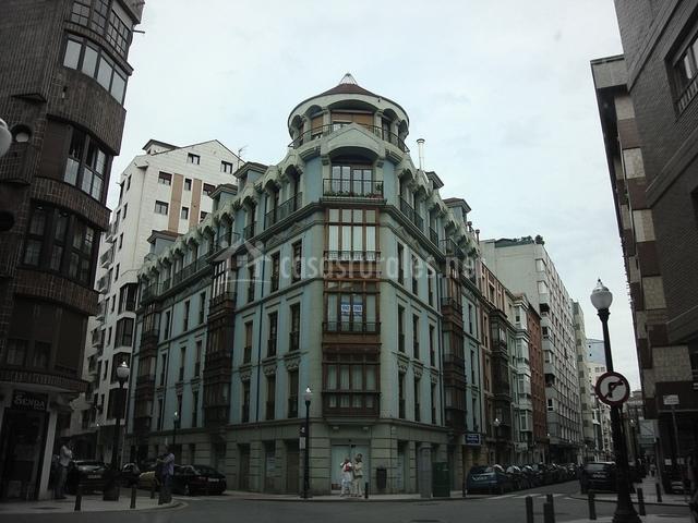 Núcleo urbano de Gijón