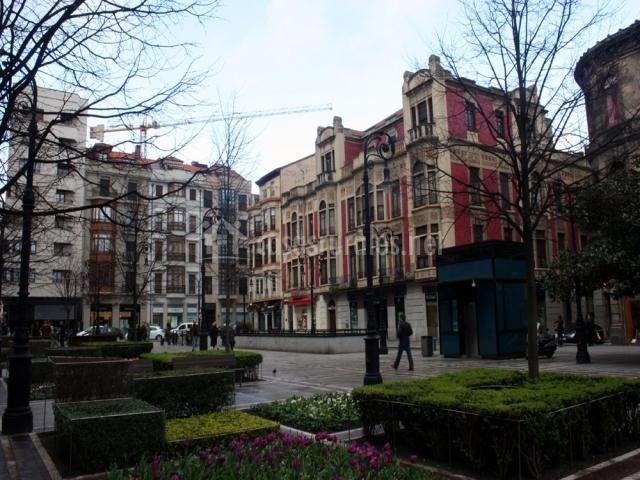 Parque en Gijón