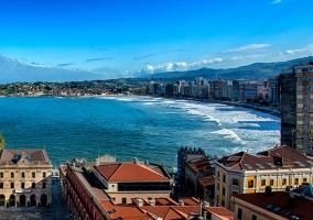 Panorámica de Gijón