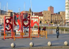 Gijón y su puerto