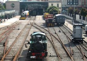 Museo asturiano del ferrocarril en Gijón