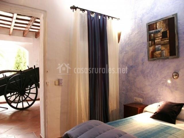 Dormitorio en cochera