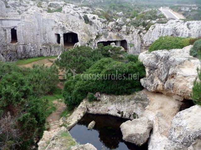 Necrópolis cales coves