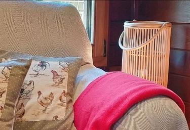 Sala de estar y sus detalles