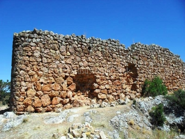 Ruinas del castillo de Rochafrida
