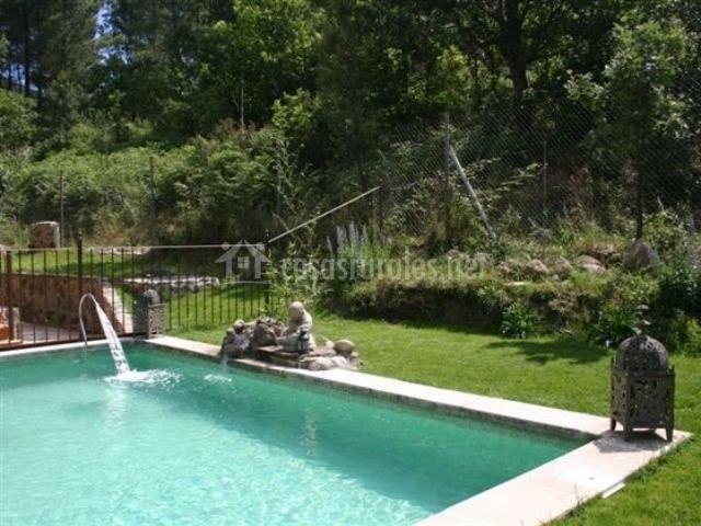 Casa carmela en arenas de san pedro vila for Escapada rural piscinas naturales