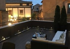 Apartamentos La Herradura- Terraza