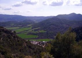 Vista de la zona