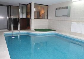 La p rgola casa rural en la cabrera madrid for Casa rural con piscina cubierta