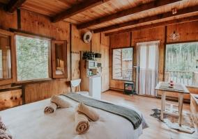 Durmiendo entre Árboles- Cabaña del Camino