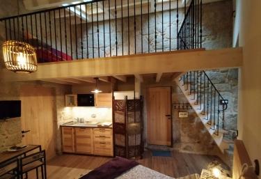 Loft Stella - Casa Rural OLardoMar - Frean (Carnota), A Coruña