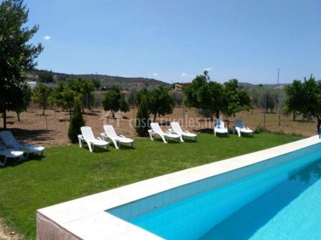 Casa rural san antonio en cabra c rdoba for Hamacas de piscina