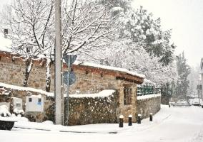 Exterior en invierno