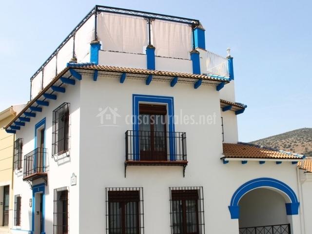 Casa rural aurora casa rural en carcabuey c rdoba for Fotos de fachadas de casas andaluzas