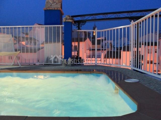 Casa rural aurora en carcabuey c rdoba for Burbuja piscina