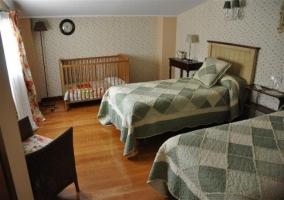 Zona de estar en dormitorio