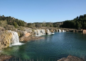 Zona natural de las lagunas