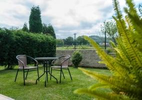 Muebles del jardín