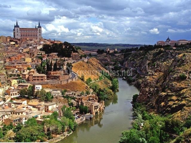 Toledo y el Río Tajo