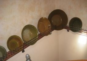 Hilera de platos