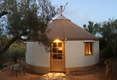 Yurta Mongola Delta del Ebro - Camarles, Tarragona