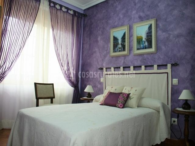 Patio de la mancha en el romeral toledo - Dormitorio malva ...