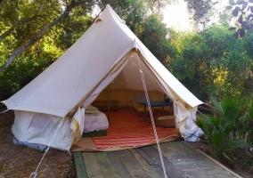 Natural Bell Tent - Tulpa Cádiz