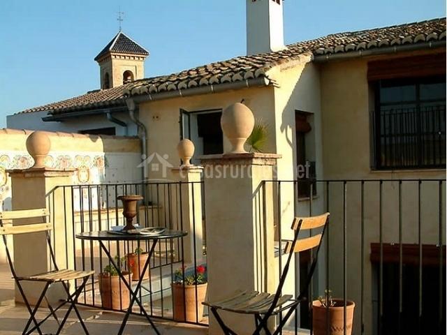 Casa del pati en llanera de ranes valencia for La terraza de la casa del soldado
