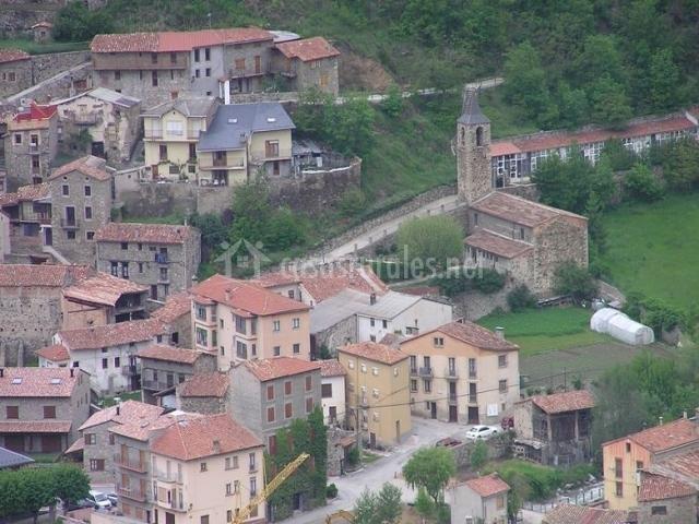 Zona del pueblo de Martinet