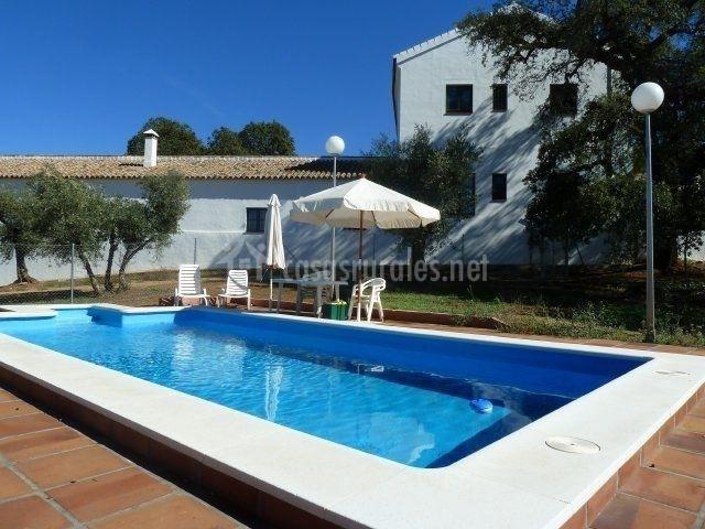 Cortijo almazara quintanilla en el pedroso sevilla for Casa rural sevilla piscina