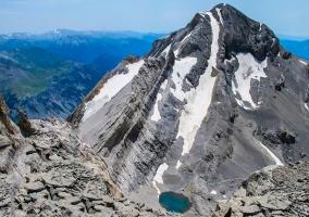 Pico Cilindro en Parque Natural de Ordesa y Monte Perdido