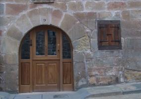 El exterior del alojamiento