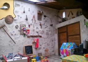 Elementos de labranza en paredes