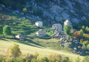 Casas en los Picos de Europa