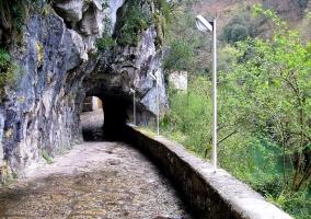 Puerta del Quesu en Puertas de Cabrales