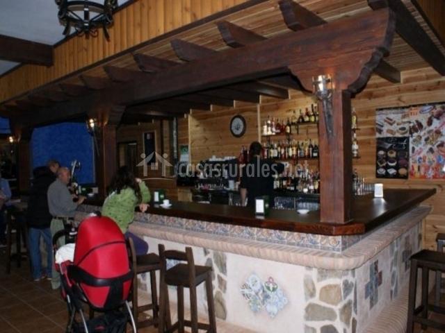 Cafetería del restaurante