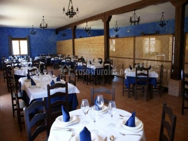 Vista del restaurante