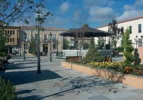 Zona de Villarrubia y sus calles
