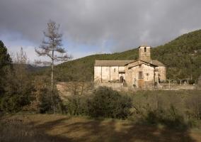 Iglesia de San Esteban, Olius