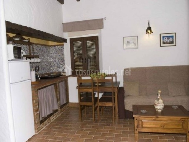 Apartamentos rurales la cartuja en barbate c diz for Cocina estar comedor