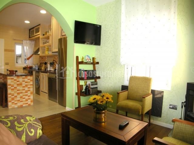 Sala De Estar Y Cocina ~ sala de estar verde con sillones sala de estar con