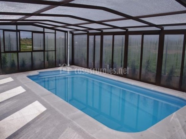 Casa rural el olivo en aldeadavila de la ribera salamanca for Casa rural con piscina cubierta