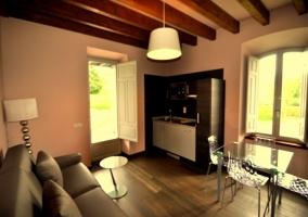 Salón cocina de Casa Solita