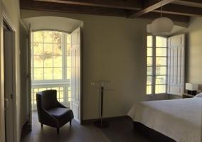Galería acristalada dormitorio