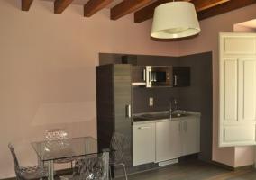 Salón cocina Casa Palmira