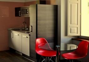 Salón cocina Casa Adón