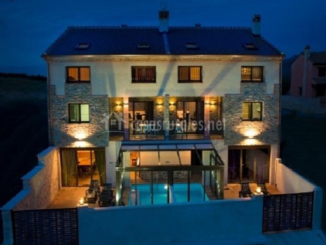 El encanto el encanto del sabinar casas rurales en for Casas rurales con encanto y piscina