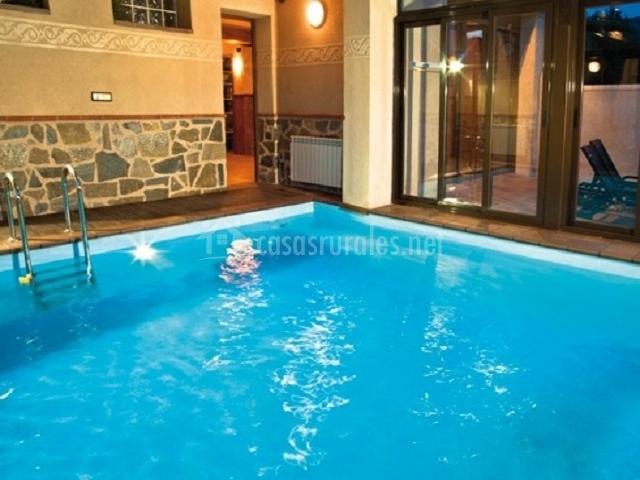 El encanto el encanto del sabinar casas rurales en for Alojamiento con piscina