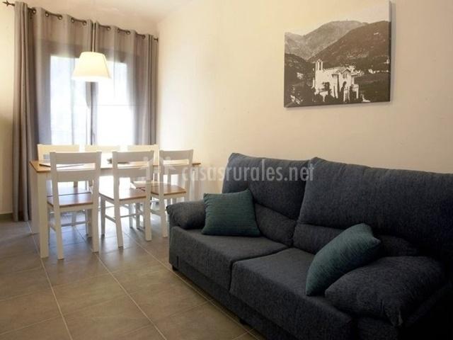 Sala de estar del apartamento para 6 personas